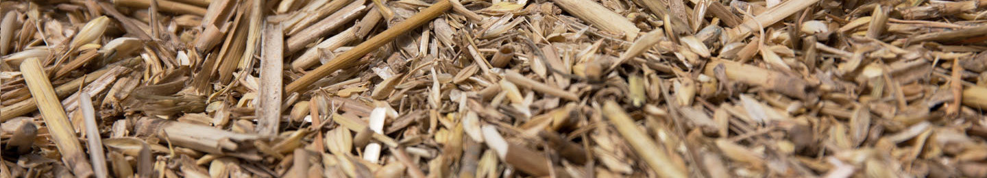 Biomass fuel types-straw